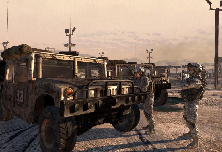 Humvee w Call of Duty